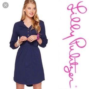 Lilly Pulitzer Beckett shirt dress S